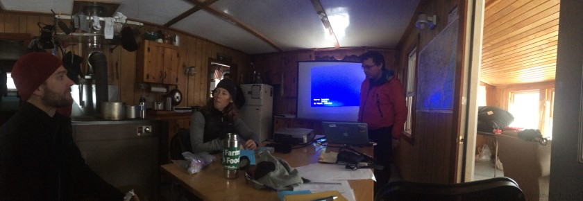 Powerpoint for Avalanche 2 at Chimney Pond