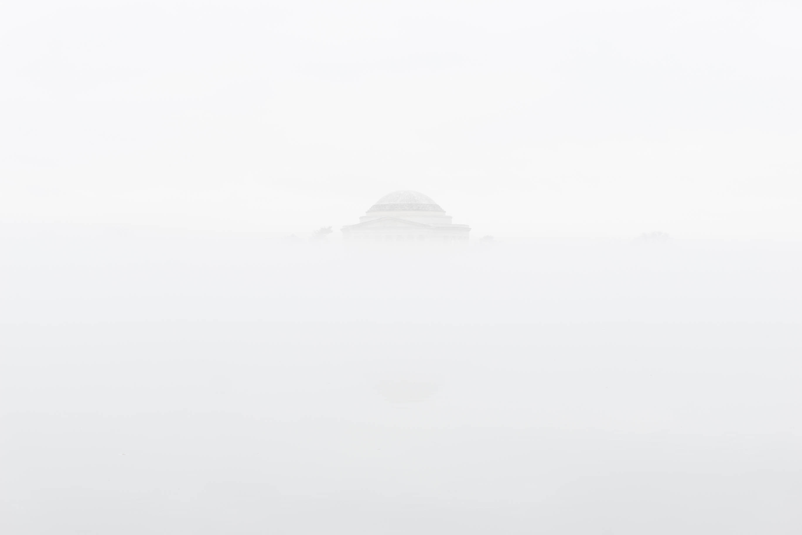 Dome in the fog